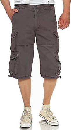 Herren Cargo-Shorts Bermuda Freizeithose 3//4 Hose Größe M,L,XL,XXL,3XL in Beige