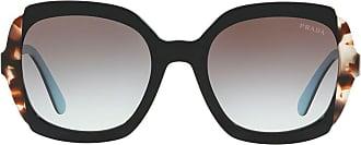Prada Óculos de sol quadrado - Preto