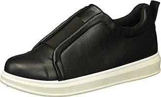 Yoki Womens Tia-77 Sneaker, Black, 7.5 M US