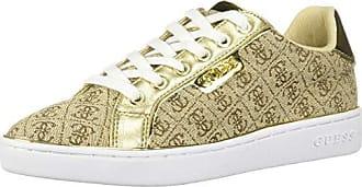 Guess Womens BANQ Shoe, Beige, 7.5 M US
