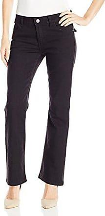 Wrangler Authentics Womens Petite Mid Rise Bootcut Jean, Black, 10 Petite