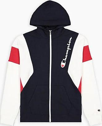 Champion Color Block Kapuzenjacke aus Baumwolle mit Reißverschluss - Size M