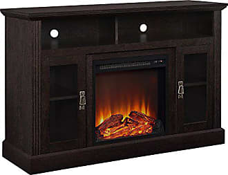 Dorel Home Products Ameriwood Home Chicago Electric Fireplace TV Console for TVs up to a 50, Espresso