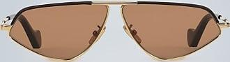 Loewe Geometrische Sonnenbrille mit Leder