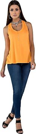 Latifundio Camiseta Regata Latifundio Laranja - M