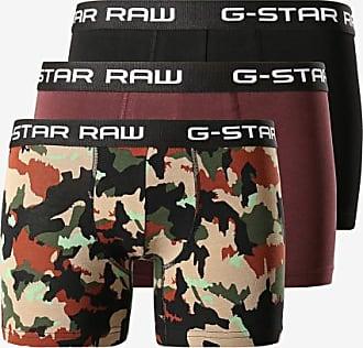 G-Star Lot De 3 Boxers D13388-A314 Noir Bordeaux Camouflage 8b9092e7aaea