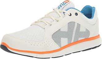 Helly Hansen Mens Ahiga V4 Hydropower Boating Shoes, White (Off White/Racer Blue 012), 8.5 UK 43 EU