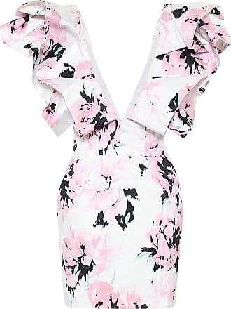 Alexandre Vauthier Cotton floral-printed mini dress