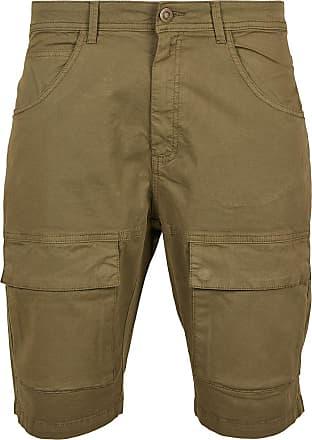 Urban Classics Performance Cargo Shorts - Short - oliv