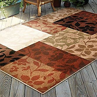 Orian Rugs Four Seasons Indoor/Outdoor Monique Area Rug, 52 x 76, Multicolor