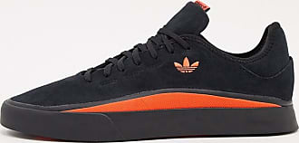 adidas Originals Sabalo trainers in black suede