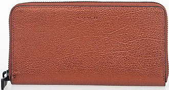 Coach Metallic Leather Wallet size Unica