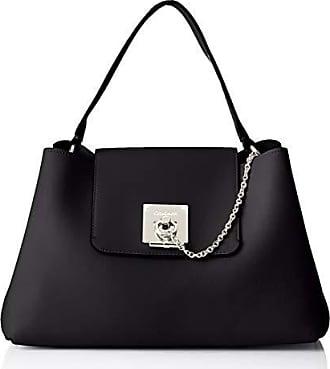 eb506df810 Calvin Klein Ck Lock Shoulder - Borse a spalla Donna, Nero (Black),
