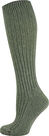 MySocks Unisex Knee High Merino Wool Socks Plain Grey