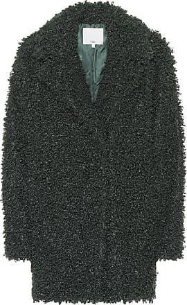 Tibi Cappotto in shearling sintetico