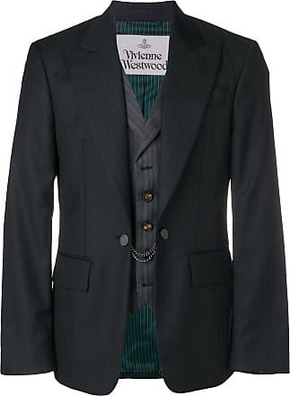 Vivienne Westwood classic striped blazer - Grey