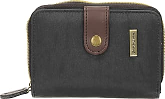 Swankyswans Riley Nylon Womens Small Flip Wallet Purse - SwankySwans (Black)