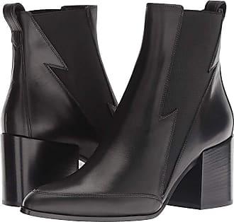 44c8b230ee30 Belstaff Elmdale Calf Leather Lighting Bootie (Black) Womens Boots