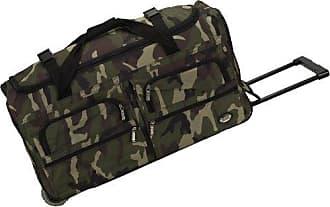 Rockland Luggage 30 Inch Rolling Duffle Bag, Camouflage, Medium