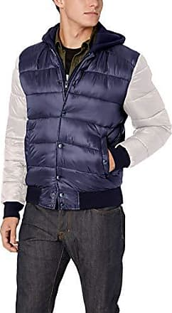 Guess Mens Varsity with Hood Black Large