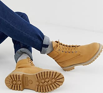 Timberland 6 Inch premium boots in beige