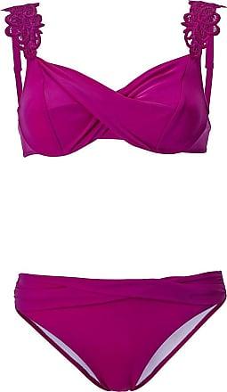 ETIREL Lycra Bikini Oberteil Bügel BH rot Grösse 36 38 40 42 Cup B Neu