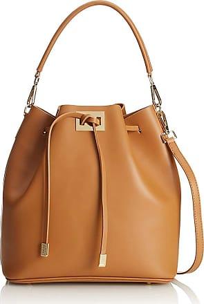 Chicca Borse Handbag bucket woman with leather strap 30 x 28 x 15 cm - mod. Alice