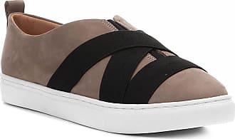 5cb7f9b1ae6 Shoestock Tênis Couro Shoestock Elástico Feminino - Feminino