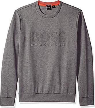 5400a106c HUGO BOSS BOSS Green Mens Salbo Sweatshirt, Medium Grey, L