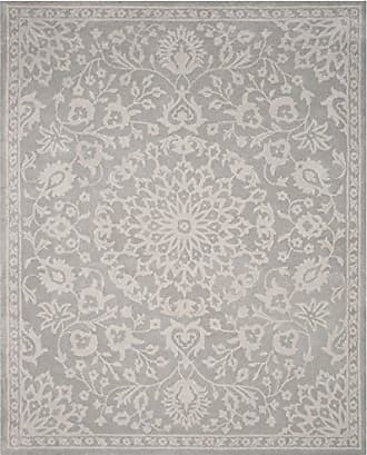 Safavieh Bella Collection BEL446A Handmade Grey and Silver Premium Wool Area Rug (10 x 14)
