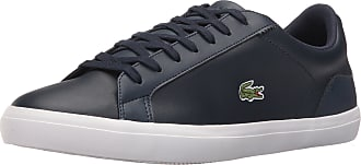 Lacoste Mens 2019 Lerond Bl 1 CAM Trainers - Navy - UK 9