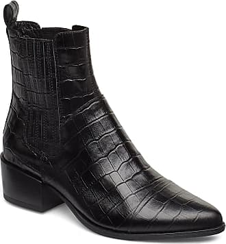 Vagabond Marja Shoes Boots Ankle Boots Ankle Boots With Heel Svart VAGABOND