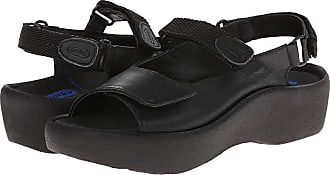 b6683ac34d Wolky Jewel (Black Smooth Leather) Womens Hook and Loop Shoes