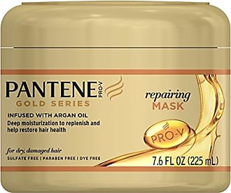 Pantene Pro-V Repairing Mask Hair Treatment, Butter Crème Hair Treatment, Pro-V Gold Series, for Natural and Curly Textured Hair, 7.6 fl oz