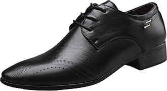 Generic Men Leather Shoes Light Anti Slip Flat Moccasins Wedding Party Dress Shoe Formal Lace up Black Oxfords