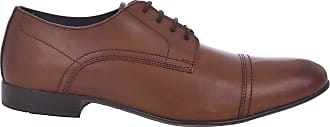 Ikon Mens Hastings Formal Oxford Shoes - Brown - 12UK