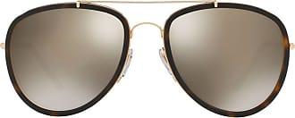Burberry Sunglasses Óculos de sol espelhado - Dourado
