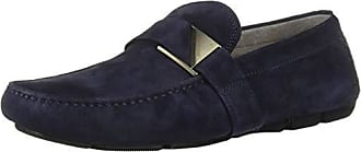 Kenneth Cole Mens Theme Driver C Driving Style Loafer, Navy, 7 M US