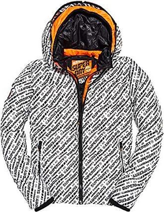 Camo//Black, X-Large Superdry Men/'s Jared Half-Zip Hooded Overhead Jacket
