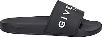 Givenchy Badeschuhe SLIDE Gummi Logo schwarz