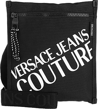 Versace Jeans Couture Cross Body Bags - Macrologo Crossbody Bag Black - black - Cross Body Bags for ladies