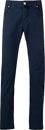 Jacob Cohen high waist five pocket trousers - Blue