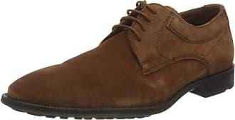 Lloyd Mens Justus Uniform Dress Shoe, Cognac, 10.5 UK