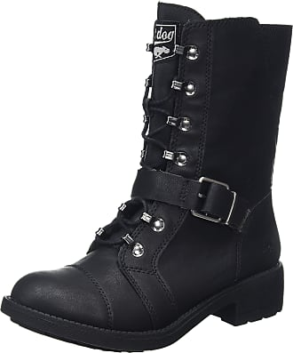 Biker Boots for Women in Black: Now up