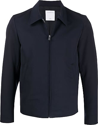 Sandro zipped short jacket - Blue