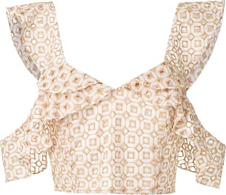OLYMPIAH Orchid Cropped-Top - AREIA