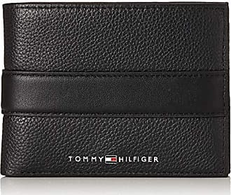 90c3707cd Tommy Hilfiger Th Downtown Extra Cc And Coin, Tarjeteros Hombre, Negro  (Black)