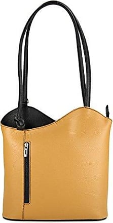 f7ad881a53c25 Belli ital. Ledertasche Backpack 2in1 Rucksack Handtasche Schultertasche -  Freie Farbwahl - 28x28x8 cm (