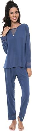 Pzama Pijama Pzama Renda Azul