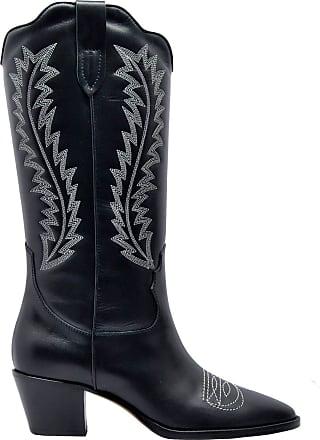 PARIS TEXAS Fashion Womens PX174BLACK Black Ankle Boots |